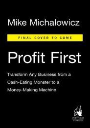 (SPIRITED) Profit First: Transform Your Business from a Cash-Eating Monster to a Money-Making Machine eBook PDF Download