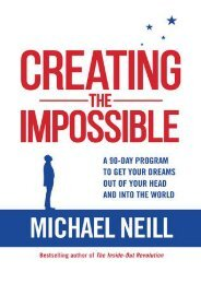 (SPIRITED) Creating the Impossible: How to Get Any Project Out of Your Head and into the World in Less Than 90 Days eBook PDF Download