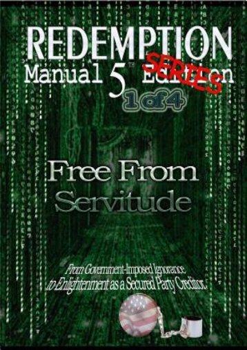 -SECRET-PLOT-Redemption-Manual-5-0-Series--Book-1-Free-from-Servitude-eBook-PDF-Download