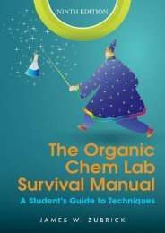 (MEDITATIVE) The Organic Chem Lab Survival Manual: A Student's Guide to Techniques eBook PDF Download