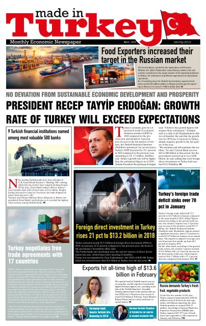Made in Turkey Newspaper March 2019