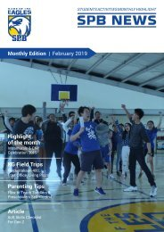 SPB News February 2019