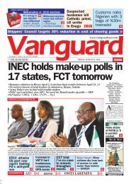 22032019- INEC holds make-up polls in 17 states, FCT tomorrow