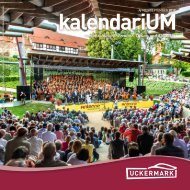 kalendariUM April - September 2019