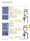 2-leg table support frame - Hettich - Page 2