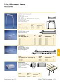 2-leg table support frame - Hettich - Page 4
