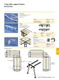 2-leg table support frame - Hettich - Page 6