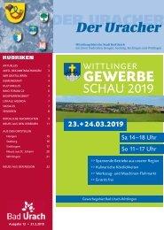 Der Uracher KW 12-2019