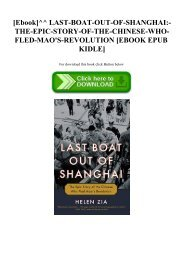 [Ebook]^^ LAST-BOAT-OUT-OF-SHANGHAI-THE-EPIC-STORY-OF-THE-CHINESE-WHO-FLED-MAO'S-REVOLUTION [EBOOK EPUB KIDLE]