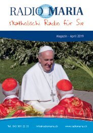 Radio Maria Magazin - April 2019