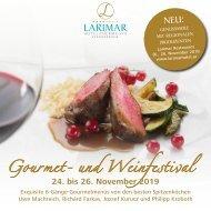 Larimar Gourmet- und Weinfestival 24. bis 26. November 2019