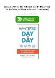 ((Read_[PDF])) The Whole30 Day by Day Your Daily Guide to Whole30 Success {read online}