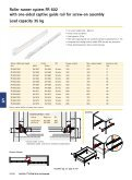 Roller runner system FR 402 with one-sided captive guide ... - Hettich - Page 7