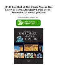 [EPUB] Rose Book of Bible Charts  Maps & Time Lines Vol. 1 10th Anniversary Edition Ebook  Read online Get ebook Epub Mobi