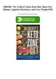 free keto zone diet download