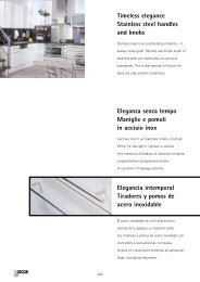 Stainless Steel Acciaio Inox Acero Inoxidable - Hettich