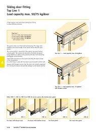 Sliding door fitting Top Line 1 Assembly - Hettich