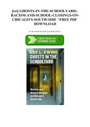 [txt] GHOSTS-IN-THE-SCHOOLYARD-RACISM-AND-SCHOOL-CLOSINGS-ON-CHICAGO'S-SOUTH-SIDE ^FREE PDF DOWNLOAD