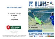 Blues News 258, SV Kematen vs FC Natters
