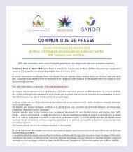 Journée des maladies rares dossier de presse Alliance  Maladie Rares Maroc (AMRM)  Sanofi