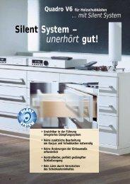 Silent System – unerhört gut! - Hettich