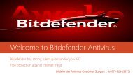 Bitdefender Antivirus Tech Support Number