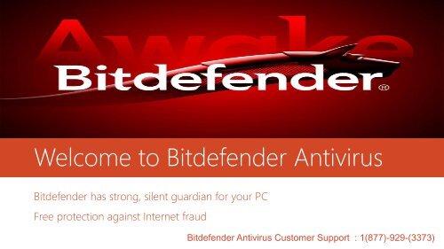 Bitdefender Antivirus Tech Support Number