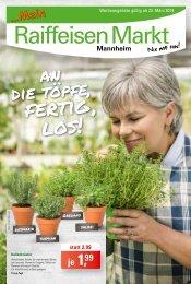 Raiffeisen Mannheim Prospekt ab 23.03.19 KW12