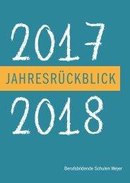 Jahresbericht BBS Weyer 2017-18
