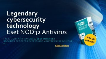 ESET Nod32 antivirus install and download