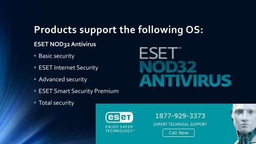ESET Nod32 antivirus install and download