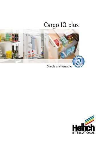 Cargo IQ plus for 150, 200, 300 mm wide units - Hettich