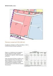 Land located in the beautiful city of Guadalajara