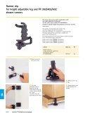 Fixing block for height adjustable leg Korrekt - Hettich - Page 5