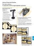 Fixing block for height adjustable leg Korrekt - Hettich - Page 6