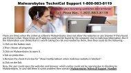 Malwarebytes TechniCal Support