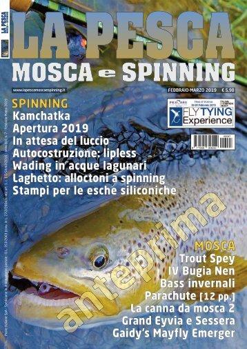 La Pesca Mosca e Spinning 1/2019
