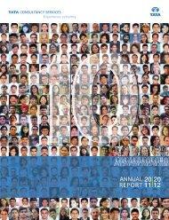 Annual Report 2011-2012 - Tata Consultancy Services