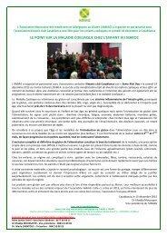 La maladie coeliaque chez l'enfant au Maroc
