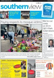 Southern View: March 26, 2019