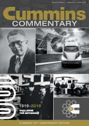 Cummins Commentary Issue 53