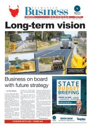 Tasmanian Business Reporter April 2019