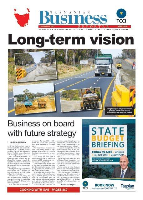 Tasmanian Business Reporter April 2019