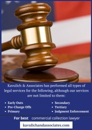 Best Commercial Collections Lawyer