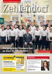 Gazette Zehlendorf April 2019