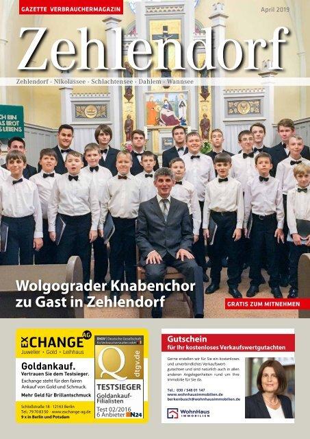 Gazette Zehlendorf April 2019
