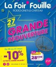 La Foir Fouille 27 mars-4 avril 2019
