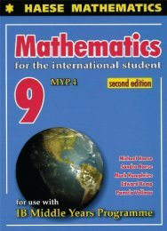 SHELF 9781921972492, Mathematics for the International Student 9 (MYP 4) second edition