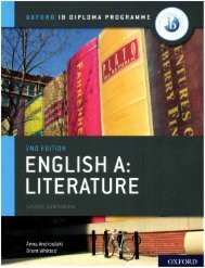 SHELF 9780198434610 IB English A Literature Course Companion 50p