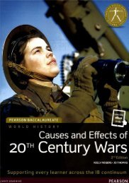 SHELF 9781447984153, Pearson Baccalaureate History Causes and Effects of 20th Century Wars 2nd Edition textbook   eText bundle 60p